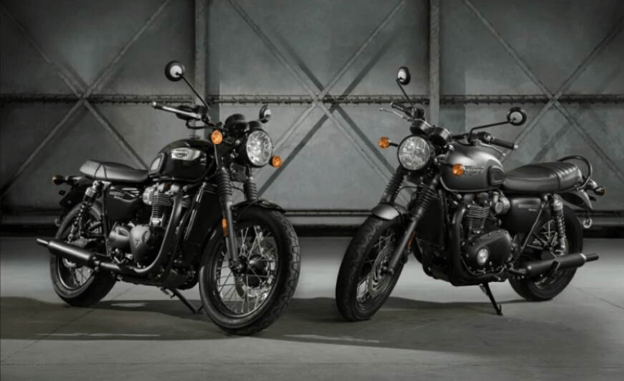 Triumph Bonneville T100 Black and T120 Black by Opsule blog