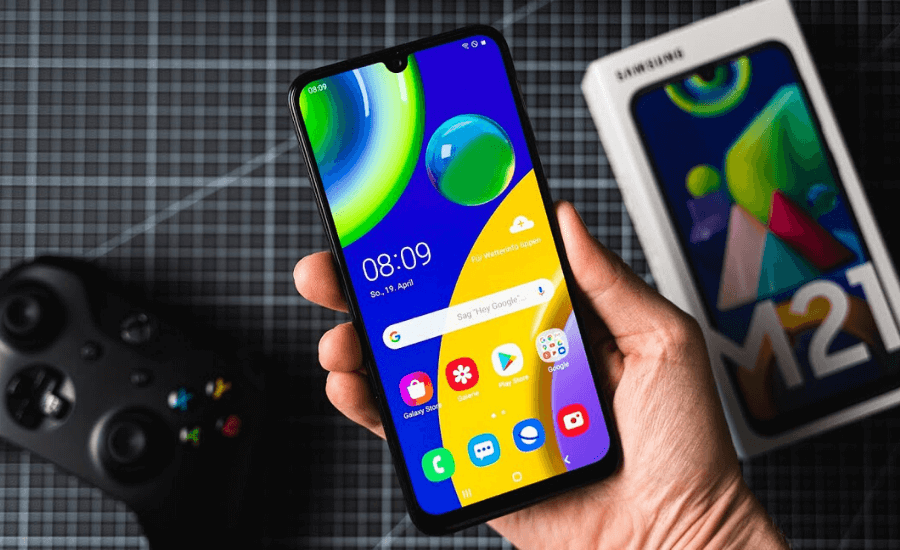 Samsung Galaxy M21 by Opsule blog